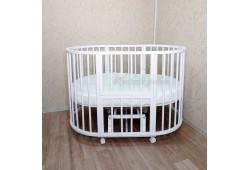 Кроватка 7в1 Mika Art Lux