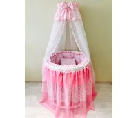 BABY-LUX розовый универсальный для круглой/овальной кровати