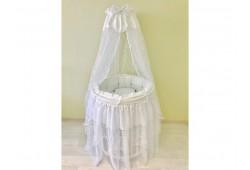 BABY-LUX белый  универсальный для круглой/овальной кровати