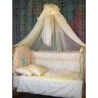 Балдахин для детской кровати (крем)