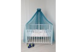 Балдахин для детской кровати (синий)