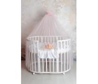 Балдахин для детской кровати (розовый)