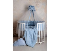 Комплект белья Карета-2 сатин (голубой)