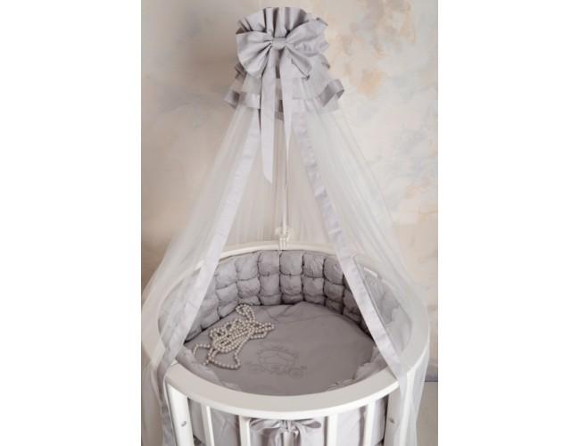 Комплект белья Карета-2 сатин (серый)