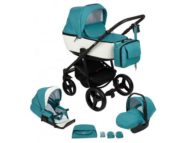 Детская коляска Adamex Reggio 3в1 (53)