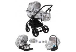 Детская коляска Adamex Reggio 3в1 (120)