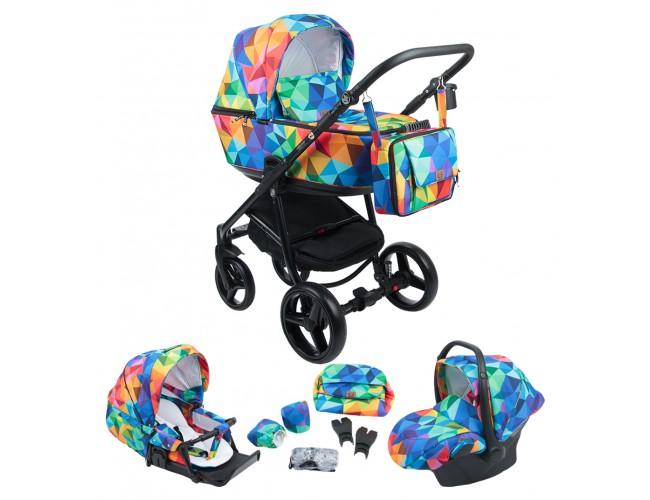 Детская коляска Adamex Reggio 3в1 (123)