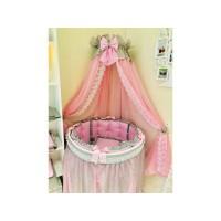 Комплект КРИСТАЛЛ универсальный , розовый с серым