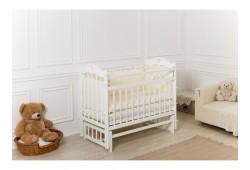 Кроватка Pali маятник поперечный без ящика белая