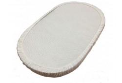 НАМАТРАСНИК на резинке на овальный матрас 125*75
