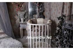 Круглая/овальная кроватка Jakomo DIA 7в1 БУК