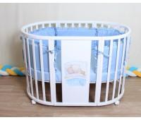 Кроватка 7в1 Мышка (береза)
