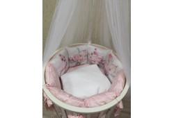 """Комплект для детской кроватки """"Принцесса фламинго"""""""