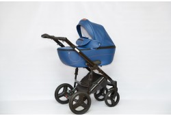 Детская коляска  PRADO NFX 2 в 1 эко кожа (dark blu 27)