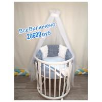 Все Включено за 20600 руб (текстиль Сатин Верона голубой)